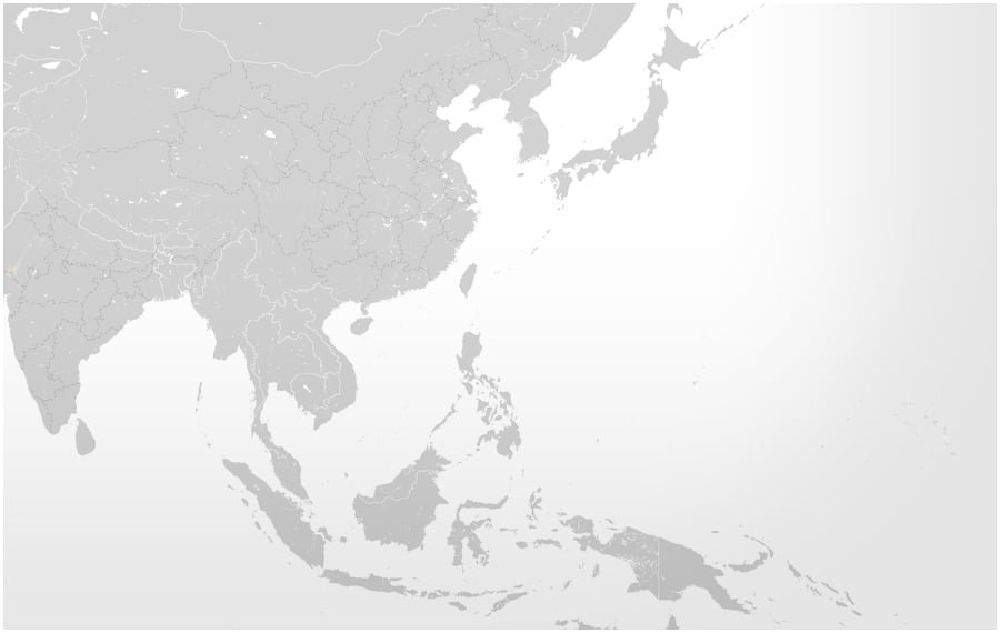 Map Asia-Pacific