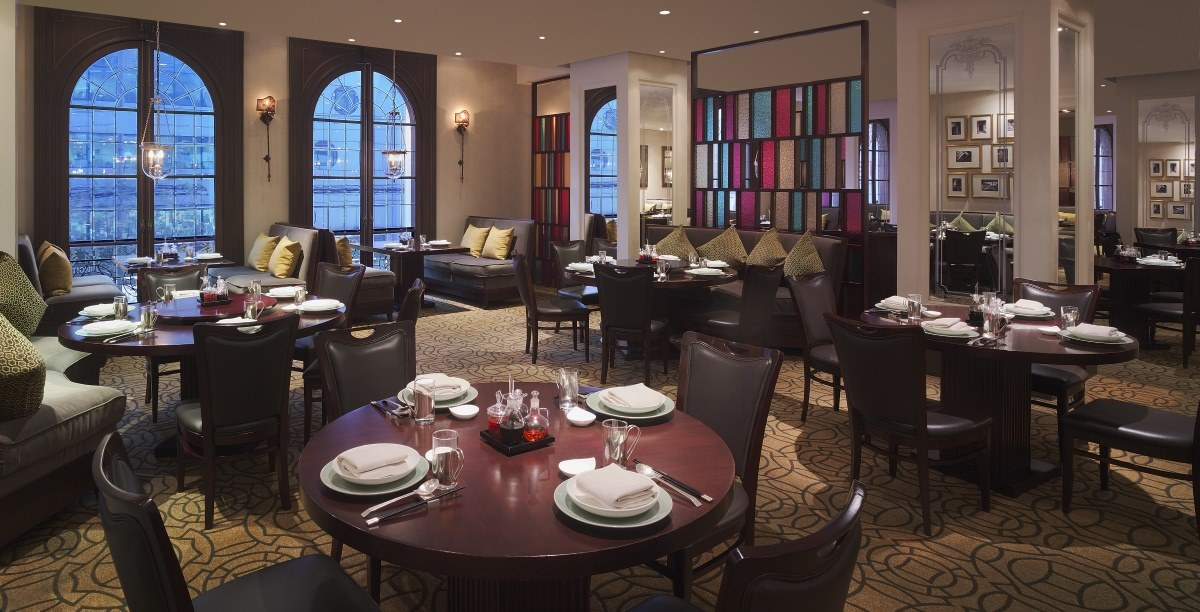 hotel dining in china