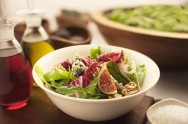 Fig, Walnuts and Blue Cheese Salad